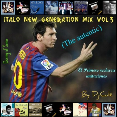 DJ Cule Italo New Generation Mix III [2011]