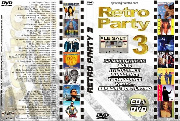 DJ Le Salt - Retro Party Mix Volume 3