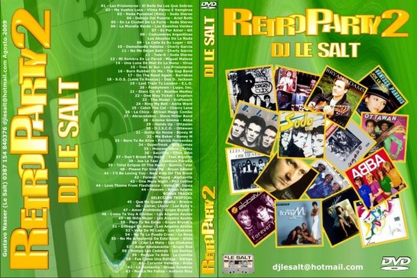 DJ Le Salt - Retro Party Mix Volume 2