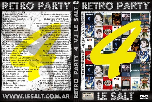 DJ Le Salt - Retro Party Mix Volume 4