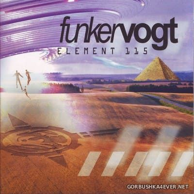 Funker Vogt - Element 115 [2021] / 2xCD / Limited Edition
