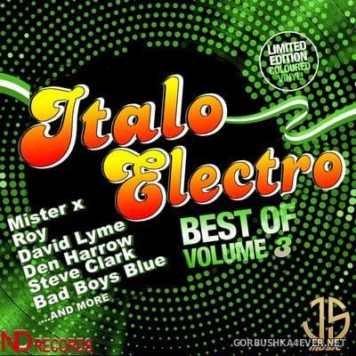 Best Of Italo Electro vol 3 [2021] By Jose Palencia & DJ Nikolay-D