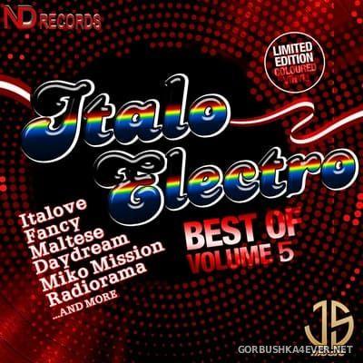 Best Of Italo Electro vol 5 [2021] By Jose Palencia & DJ Nikolay-D
