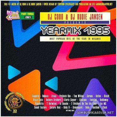 DJ CodO & Party DJ Rudie Jansen - Jaarmix 1995 deel 3 [2021] Euro Dance Edition
