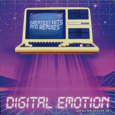 Digital Emotion - Greatest Hits & Remixes [2021] / 2xCD