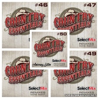 [Select Mix] Country Essentials vol 46 - vol 50 [2017]