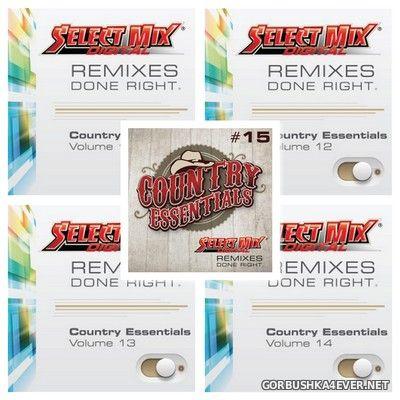 [Select Mix] Country Essentials vol 11 - vol 15 [2014]