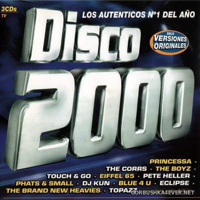 [Tempo Music] Disco 2000 [1999] / 3xCD