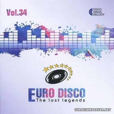 Euro Disco - The Lost Legends vol 34 [2020]