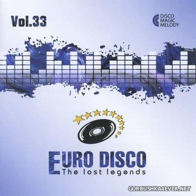 Euro Disco - The Lost Legends vol 33 [2020]