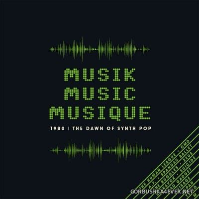 [Cherry Red Records] Musik Music Musique (1980 - The Dawn Of Synth Pop) [2020] / 3xCD