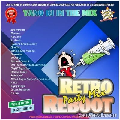 DJ Yano - Retro Reboot Party Mix (Vaccine Edition) [2021] Second Injection