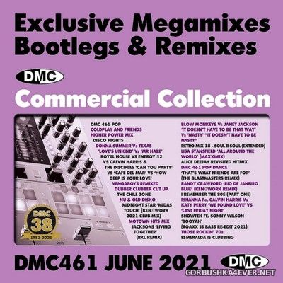 DMC Commercial Collection vol 461 [2021] June / 3xCD