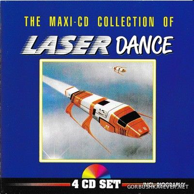Laserdance - The Maxi-CD Collection of Laserdance [1991] / 4xCD