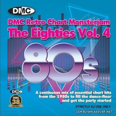DMC Retro Chart Monsterjam - The Eighties vol 4 [2021] Mixed By Lucien Vrolijk