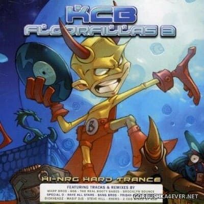 [Central Station] Floorfillas 3 [2006] / 2xCD / Mixed by KCB