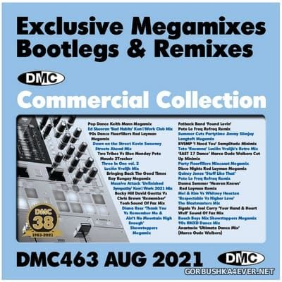 DMC Commercial Collection vol 463 [2021] August / 3xCD