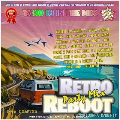 DJ Yano - Retro Reboot Party Mix 80 [2021]