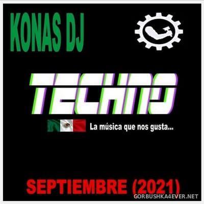 Konas DJ - Septiembre Techno Mix [2021]