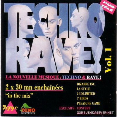[Dino Music] Techno Rave! vol 1 (In The Mix) [1992] Mixed by Joachim G