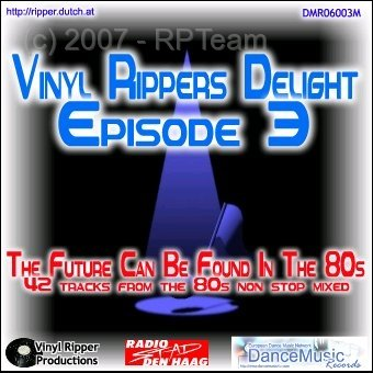 DJ Ripper - Vinyl Rippers Delight - Back to 80's (episode 3)
