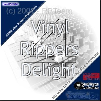 DJ Ripper - Vinyl Rippers Delight - Back to 80's (episode 4)