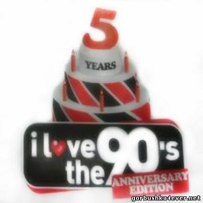 5 Years I Love The 90s (Anniversary Edition) [2012] / 5xCD