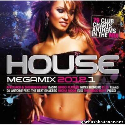 House Megamix 2012.1 / 2xCD