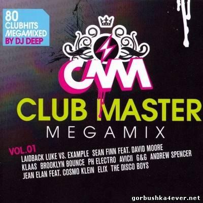 DJ Deep - Club Master Megamix vol 01 [2012] / 2xCD - 5 April