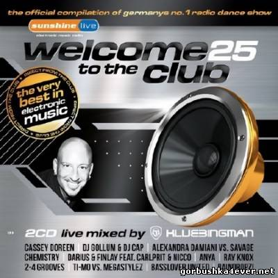 Welcome To The Club vol 25 [2012] / 2xCD