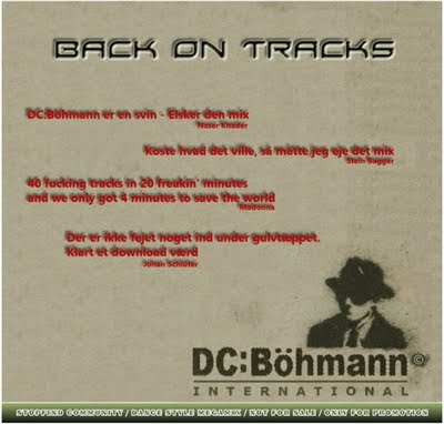 DC BOHMANN - Back On Tracks Mix