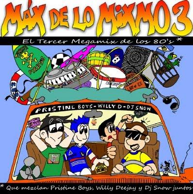 Max de lo Mixmo Vol 3 - Megamix Italo 80s (2xCD)