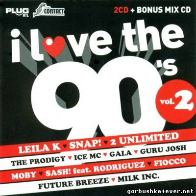 VA - I Love The 90s Volume 2 [2009] / 3xCD